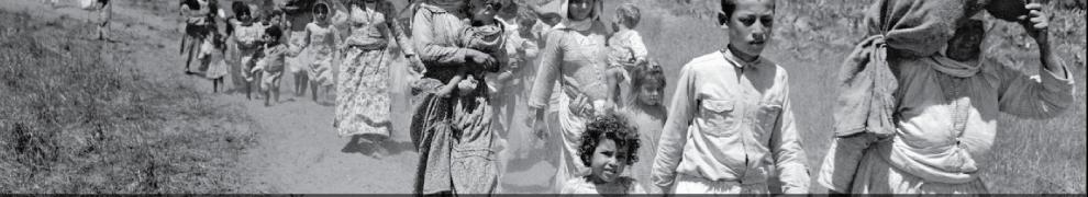 Programmafolder Nakba-herdenking 12 mei in Rotterdam